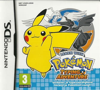 Learn with Pokemon Typing Adventure DS