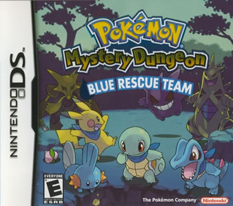 Pokemon Mystery Dungeon: Blue Rescue Team Box