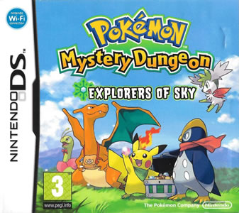 Pokemon Mystery Dungeon: Explorers of Sky
