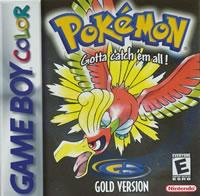 Pokemon Gold Game Boy Color