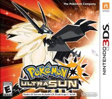 Pokemon Ultra Sun Cover