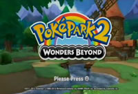 PokePark 2 Wonders Beyond Title Screen
