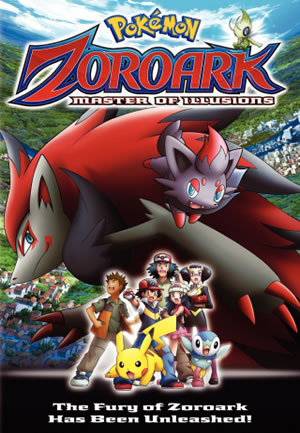 Pokemon the Movie 13 Zoroark Master of Illusions Cover
