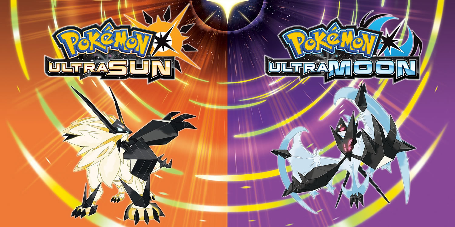 Pokemon Ultra Sun and Ultra Moon versions were announced today