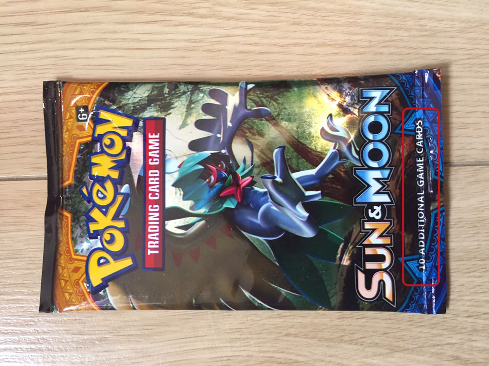 Fake Pokemon Booster Pack Front