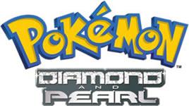 Pokemon Diamond and Pearl Season 10 Logo