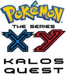 Pokemon X & Y Kalos Ques Season 18 Logot