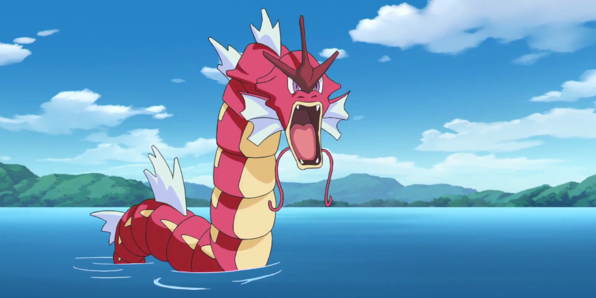 Red Gyarados was one of the first Shiny Pokemon