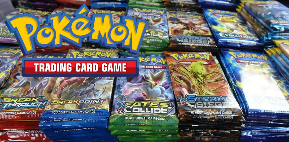 Pokemon Trading Card game header
