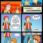 Cant Run From A trainer battle