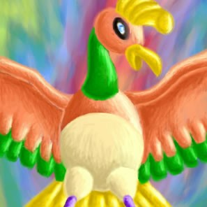 Rainbow Fire Bird