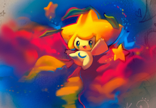Jirachi  Starry Night