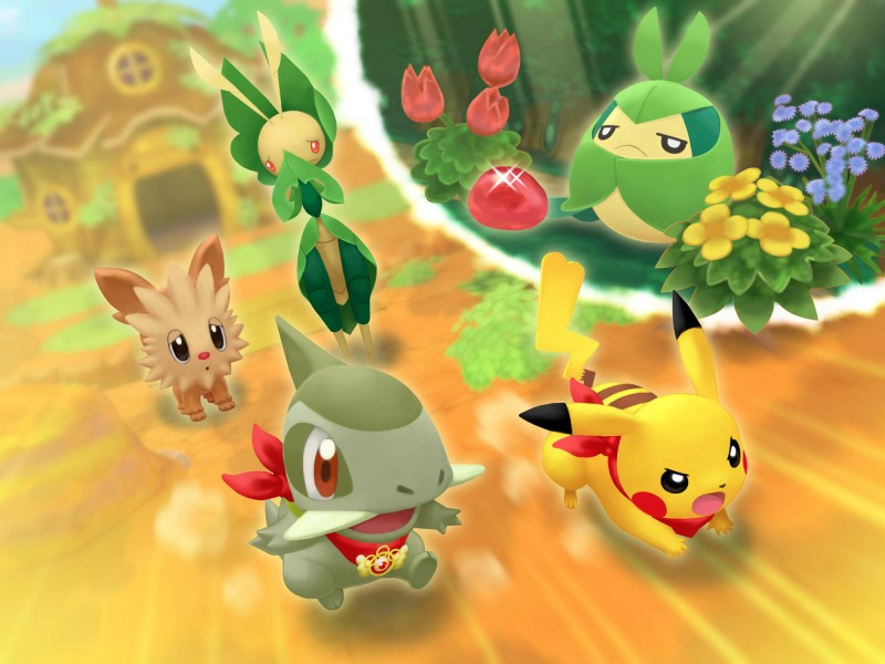 Swadloon mission   Pokemon Mystery Dungeon Gates to Infinity