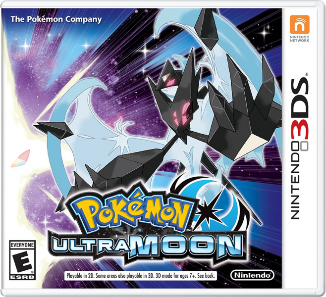 Pokemon Ultra Moon English Boxart