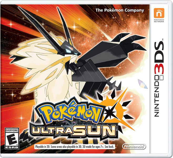 Pokemon Ultra Sun English Boxart