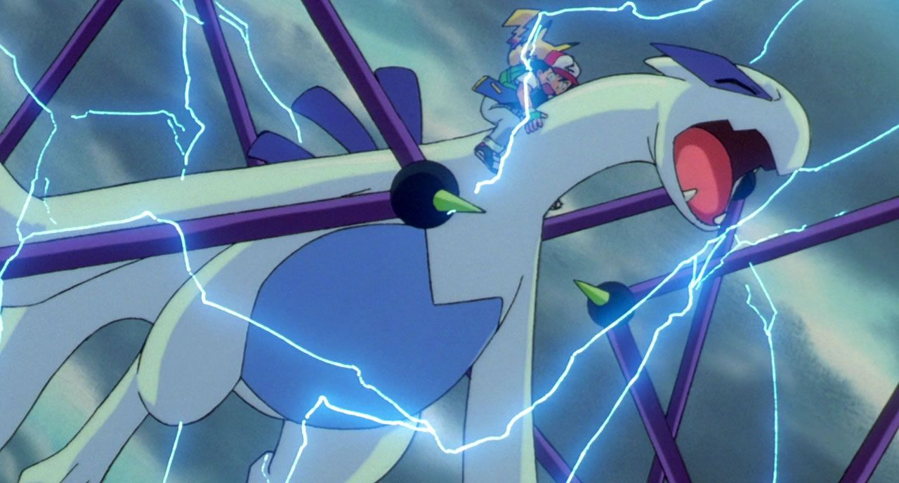 59 Lugia is struck by an attack from Lawrence III