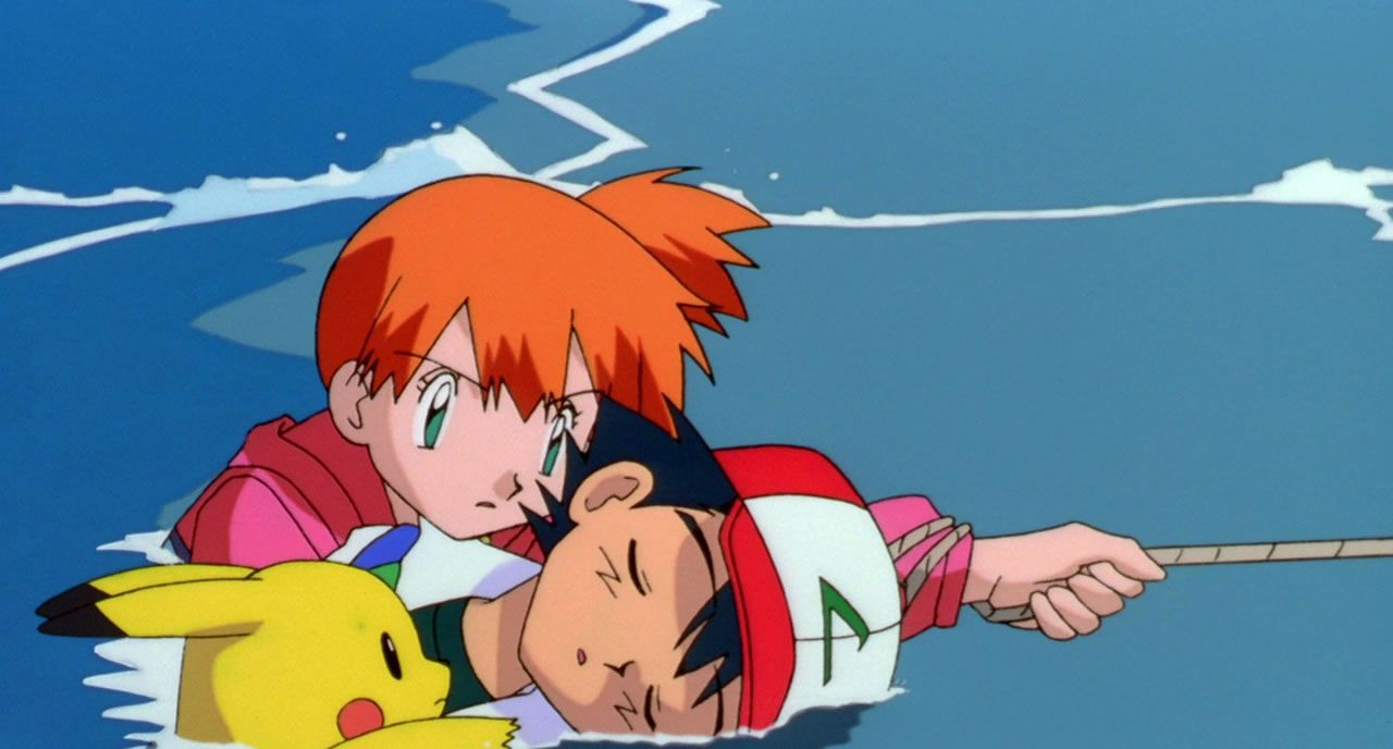 63 Misty rescues Ash