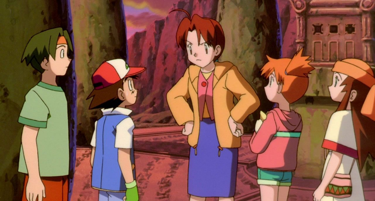 80 Delia Ketchum berates Ash for the dangerous predicament he put himself in  even if he did save the world