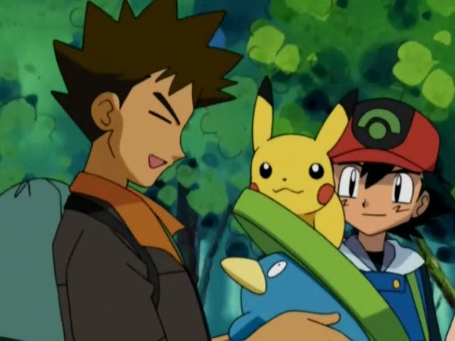 Brock Adopts Lotad