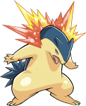 157Typhlosion Pokemon Ranger Guardian Signs