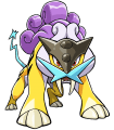 243Raikou Pokemon Ranger Guardian Signs