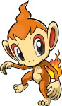 390Chimchar Pokemon Ranger Guardian Signs