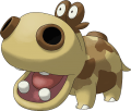 449Hippopotas Pokemon Ranger Shadows of Almia