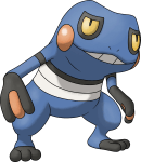 453Croagunk Pokemon Ranger Shadows of Almia