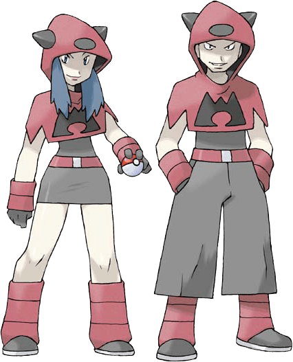 Two grunts from Team Magma