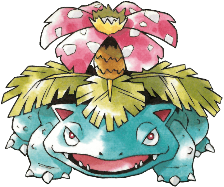 Venusaur, The Mascot Mon' of Pokemon Green