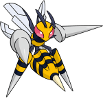 015Beedrill Mega Dream