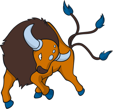 Tauros is one of the Pokérides available in Pokemon Sun and Moon