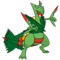 254Sceptile Mega Dream