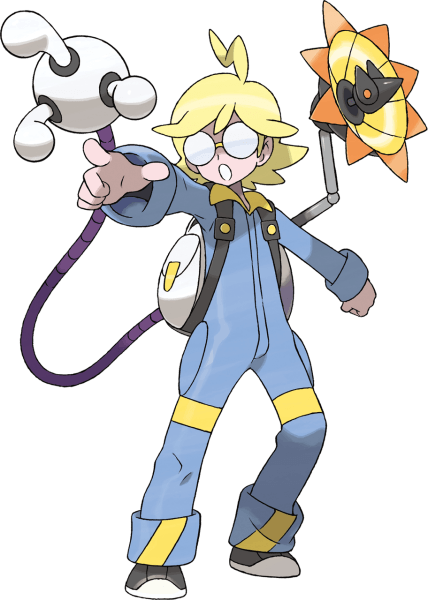 Clemont, an electric type specialist