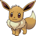 133Eevee Pokemon Mystery Dungeon Red and Blue Rescue Teams
