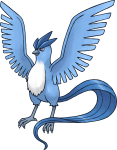 144Articuno Pokemon Mystery Dungeon Red and Blue Rescue Teams