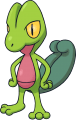 252Treecko Pokemon Mystery Dungeon Red and Blue Rescue Teams