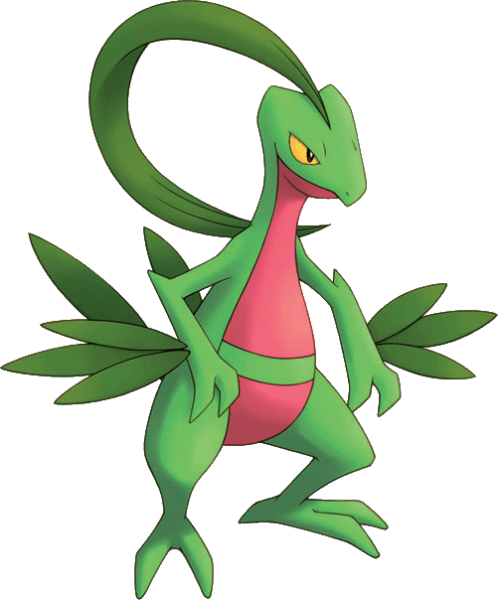 253Grovyle Pokemon Mystery Dungeon Explorers of Time and Darkness