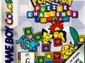 aunz pokemon puzzle challenge game boy color front cover