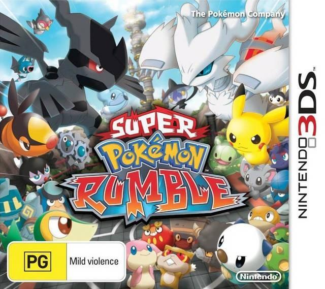 pokemon rumble blast front cover aus