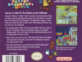 usa pokemon puzzle challenge game boy color back cover