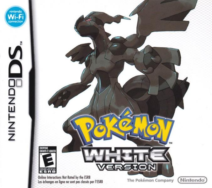 Pokemon White Box Art