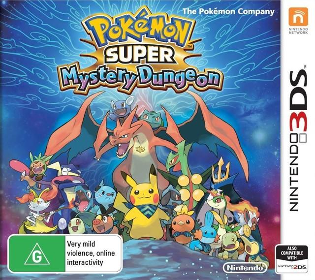 pokemon super mystery dungeon au front cover
