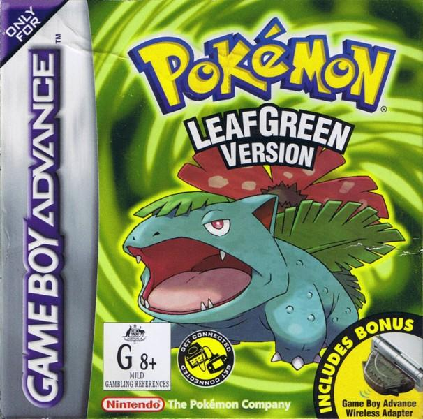 Pokemon LeafGreen Box Art