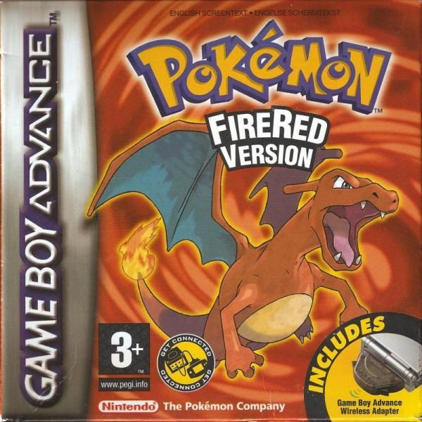 Pokemon FireRed Box