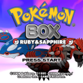 592417 pokemon box ruby sapphire gamecube screenshot title screen