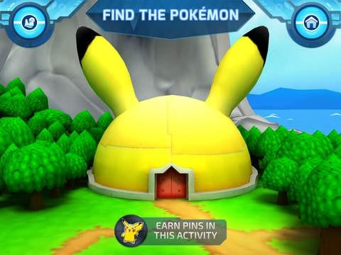 The find the Pokemon Building