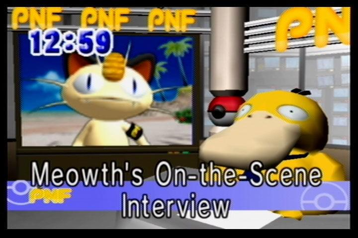 Meowth reporting live on Pokemon News Flash!