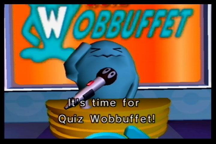 The Quiz Wobbuffet intro