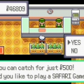 700769 pokemon emerald version game boy advance screenshot safari
